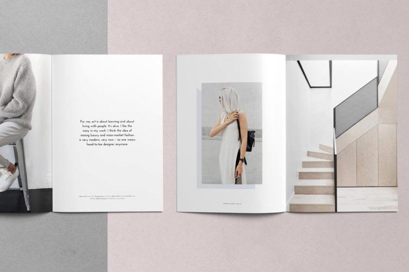 Fashion Lookbook Printing 2