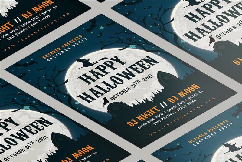 Halloween Poster Printing 3