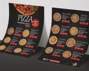 Pizza Menu Printing Nyc 3